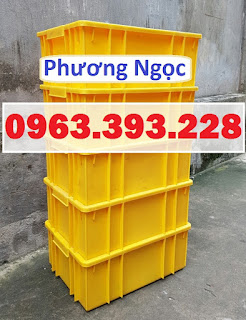 Thùng nhựa công nghiệp, thùng nhựa đặc B3, hộp nhựa đựng đồ cơ khí A5de45f3fddf188141ce