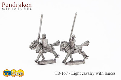 TB-4167   Light cavalry with lances (15)