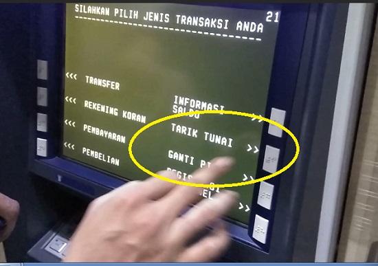 Aneka Nominal Dilayar ATM 2