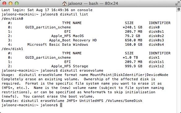 Apple 2012 Mac Mini dual-drive SSD Bootcamp Installation Guide