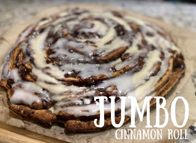 Jumbo cinnamon rolls