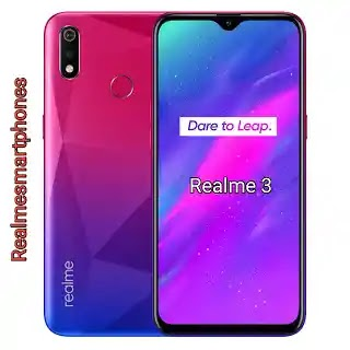 Realme 3 3GB RAM-Price in India and Full Specifications
