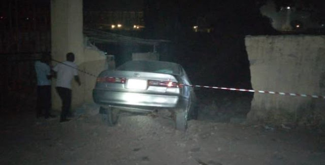 Two injured as vehicle rams into FRSC office in Onitsha