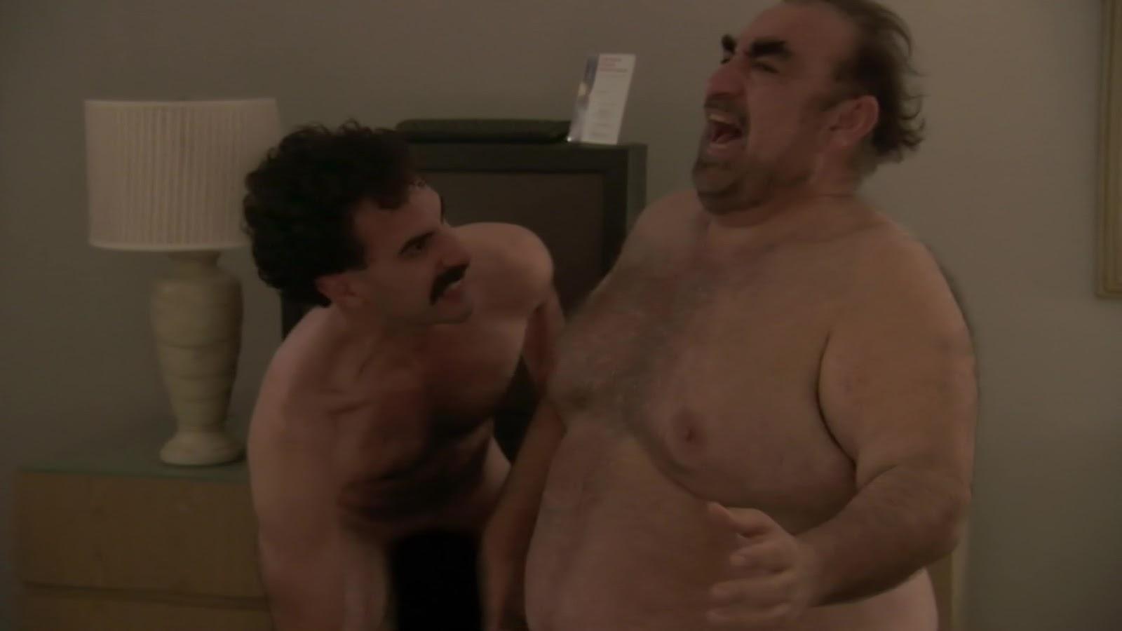 Borat Naked Fight Scene
