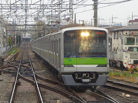 京王電鉄 快速 京王多摩センター行き17 都営10-300R形310F・320F・330F・360F