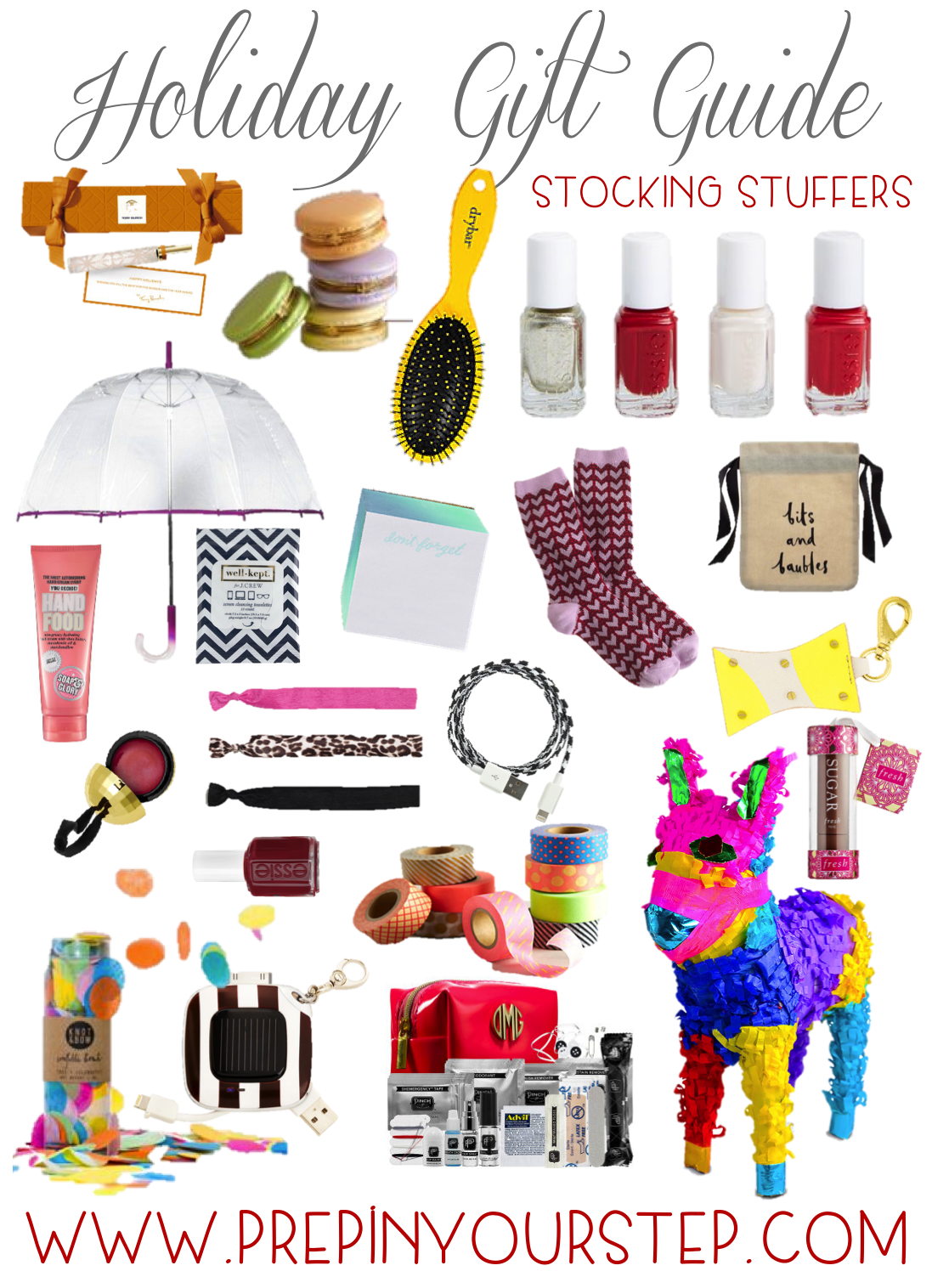 Prep in your step compilation of gift guides for everyone for Christmas stocking stuffers ideas for everyone