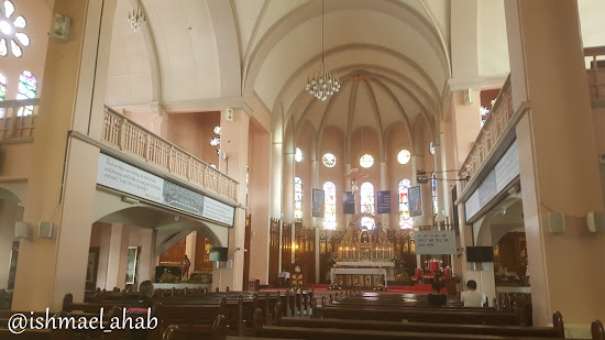Inside Baguio Cathedral