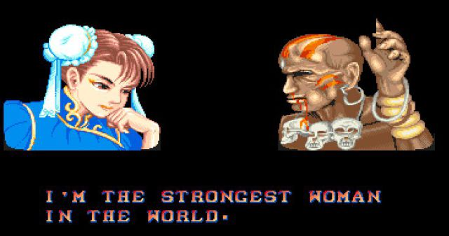 Chun-Li proclaims herself the strongest woman in the world