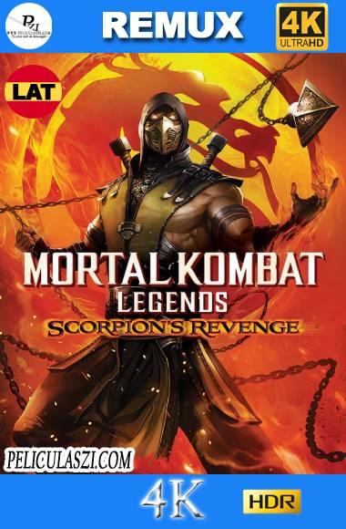 Mortal Kombat Legends Scorpion's Revenge (2020) Ultra HD REMUX 4K HDR Dual-Latino VIP