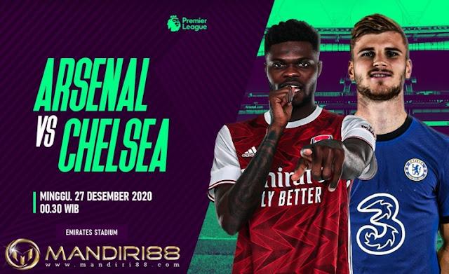 Prediksi Arsenal Vs Chelsea, Minggu 27 Desember 2020 Pukul 00.30 WIB @ Mola TV