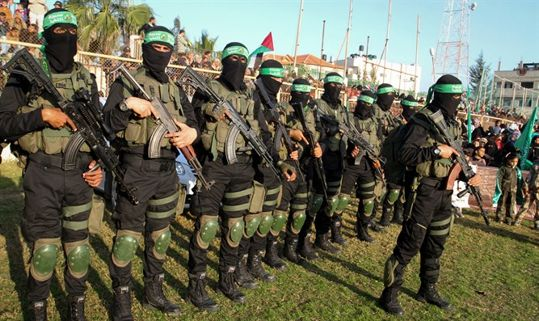 Terroristas de Hamas en Gaza [Abed Rahim Khatib - Flash 90]