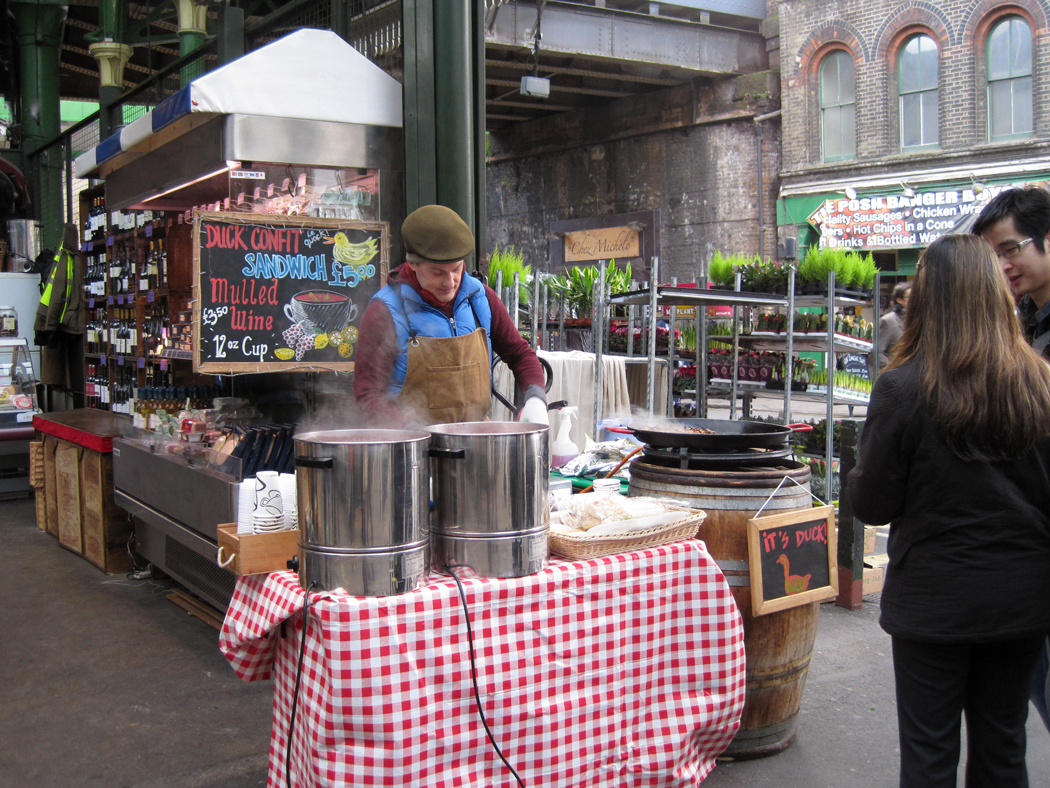 Borough Market Mulled Wine Seller