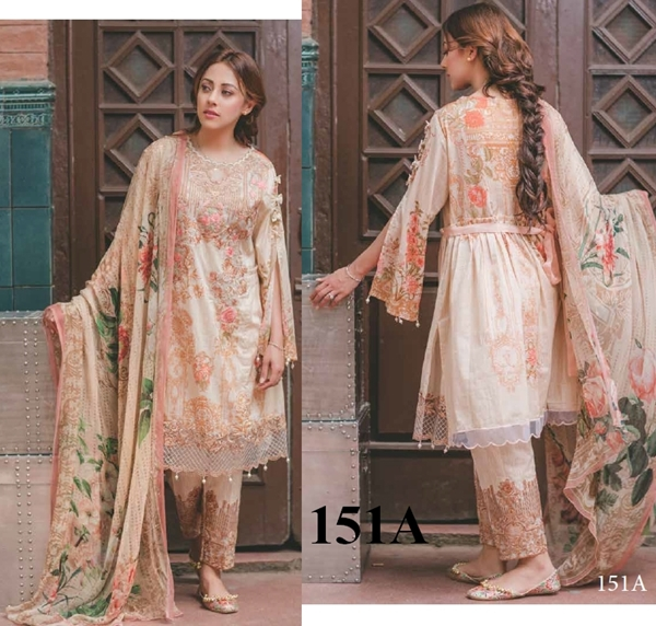 Rang Rasiya Carnation Luxury Lawn Dresses 2017