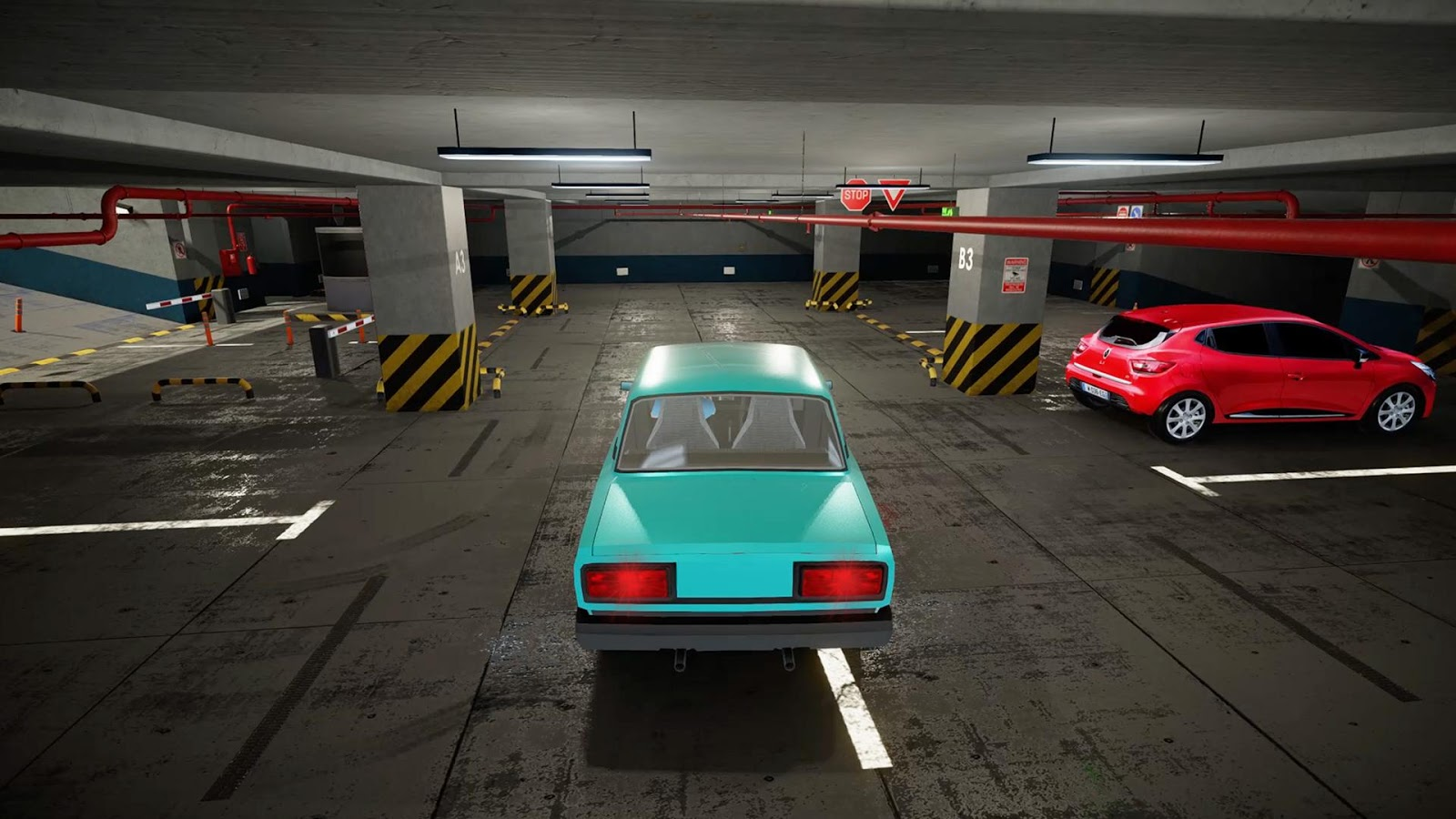 Valet Parking Multi Level Car Parking Game MOD APK