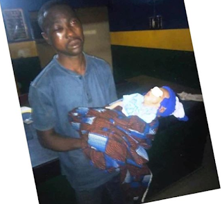 Man 39-year-old steals 2-month-old baby beside his sleeping mother