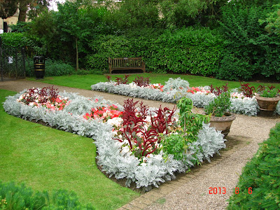 Sensory Garden with flowers, Henrietta Park, Bath