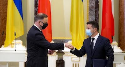 Дуда и Зеленский договорились о расширении сотрудничества