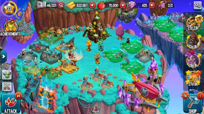 game simulasi Monster Legends mod unlilmited money