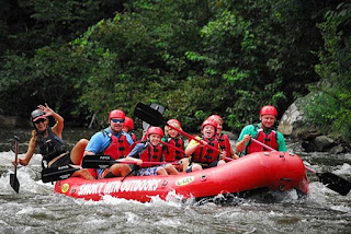 Whitewater Rafting in the Smokies