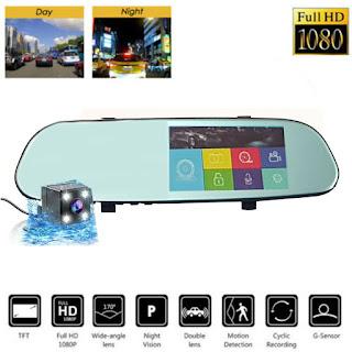 """monitor specchietto telecamera touch 5"""""""