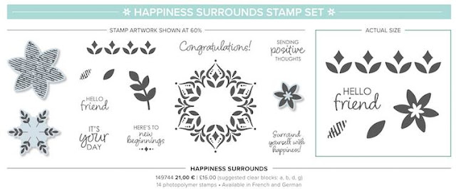 Happiness Surounds by Stampin' Up!