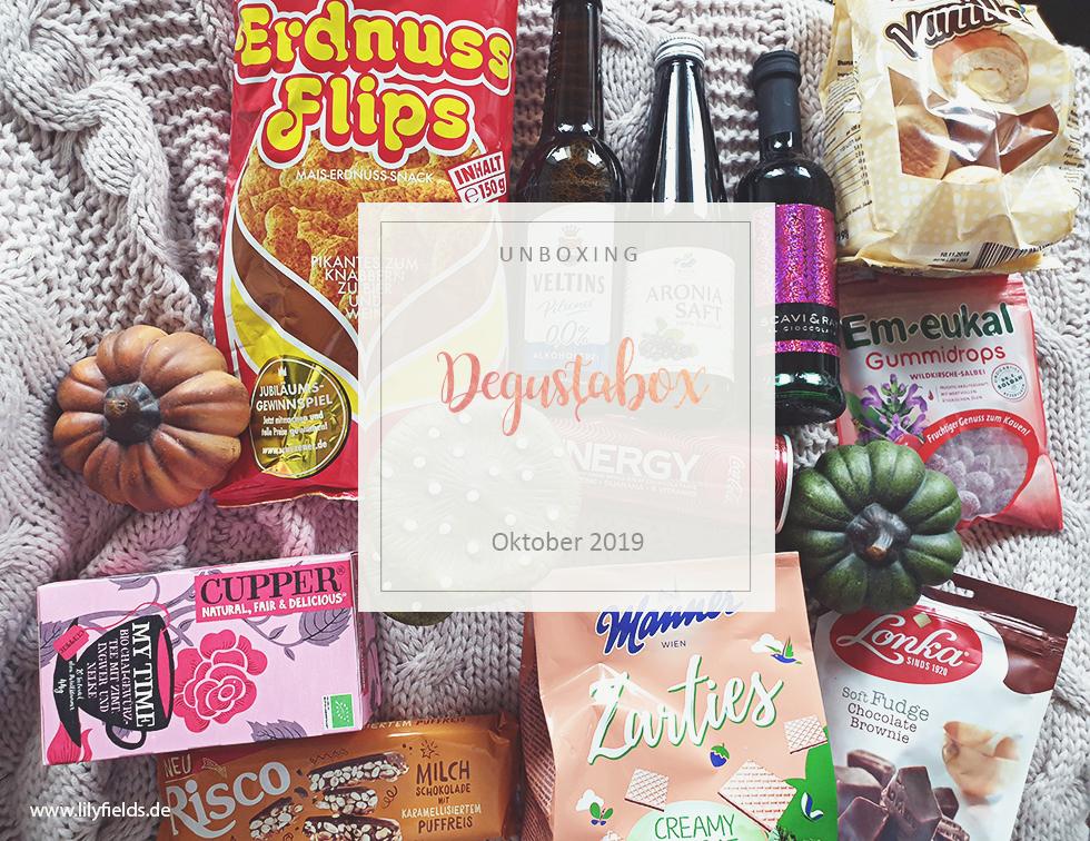 Degustabox - Oktober 2019 - unboxing