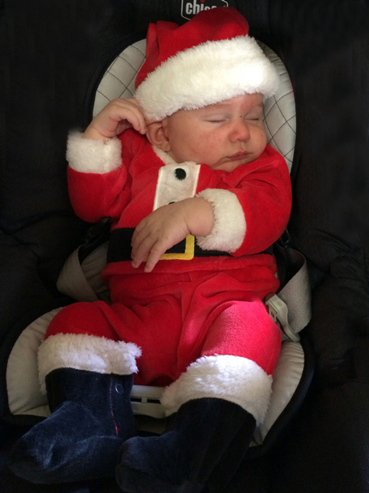 Santa Crue Stone is One Month Young