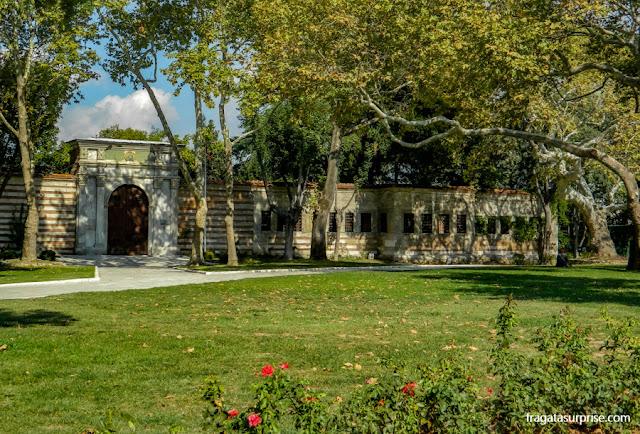 Entrada de visitantes do Palácio de Topkapi, Istambul