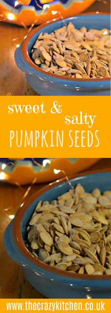 Sweet & Salty Pumpkin Seeds