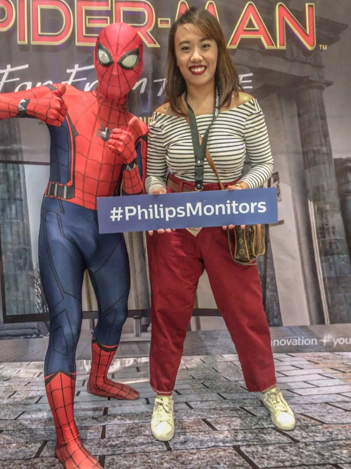 Spiderman Philips Monitor Cebu Fashion Blogger Pinkflushedcheeks