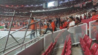 Panpel Final Piala Presiden Tanggung Jawab Penuh soal Kerusakan SUGBK