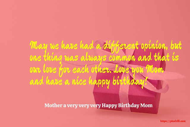 Birthday cards for Mother