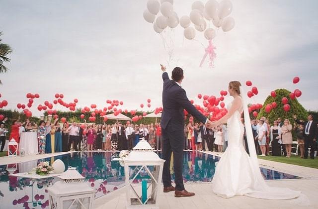 Customize your wedding venue