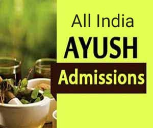 All India Ayush UG Admission Counselling for 2020-21