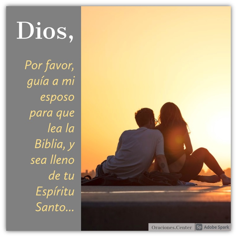 Oración Cristiana para mi Esposo