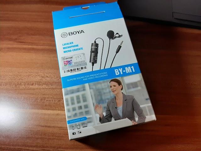BOYA BY-M1 lavalier microphone sound test