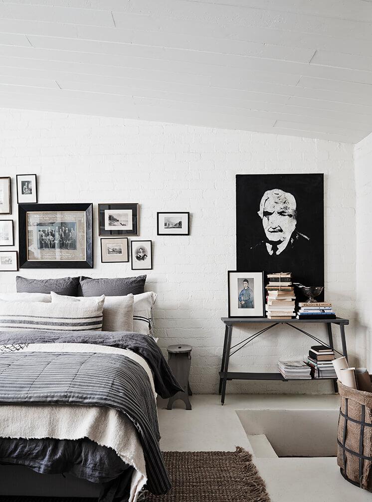 The White Room, una mezcla de blanco y vintage con un resultado magnifico