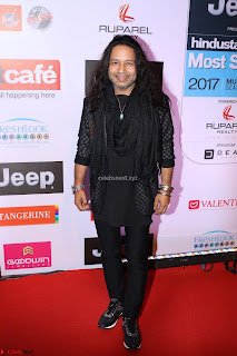 Red Carpet of Most Stylish Awards 2017 ~ Kailash Kher (1).JPG