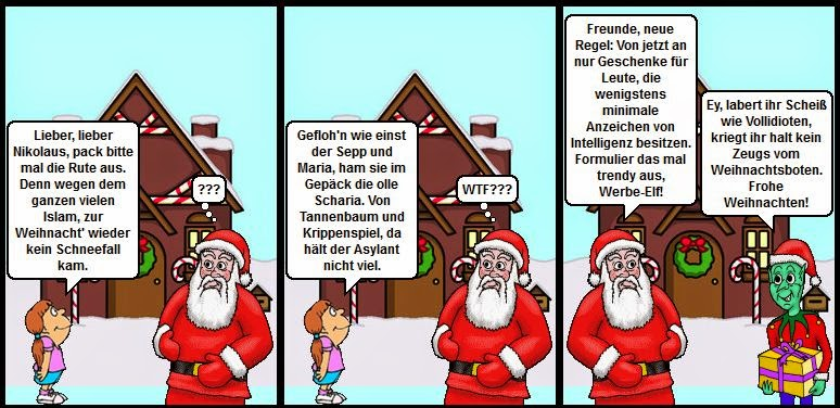 Comic Frohe Weihnachten.Frohe Weihnachten Plus Comic