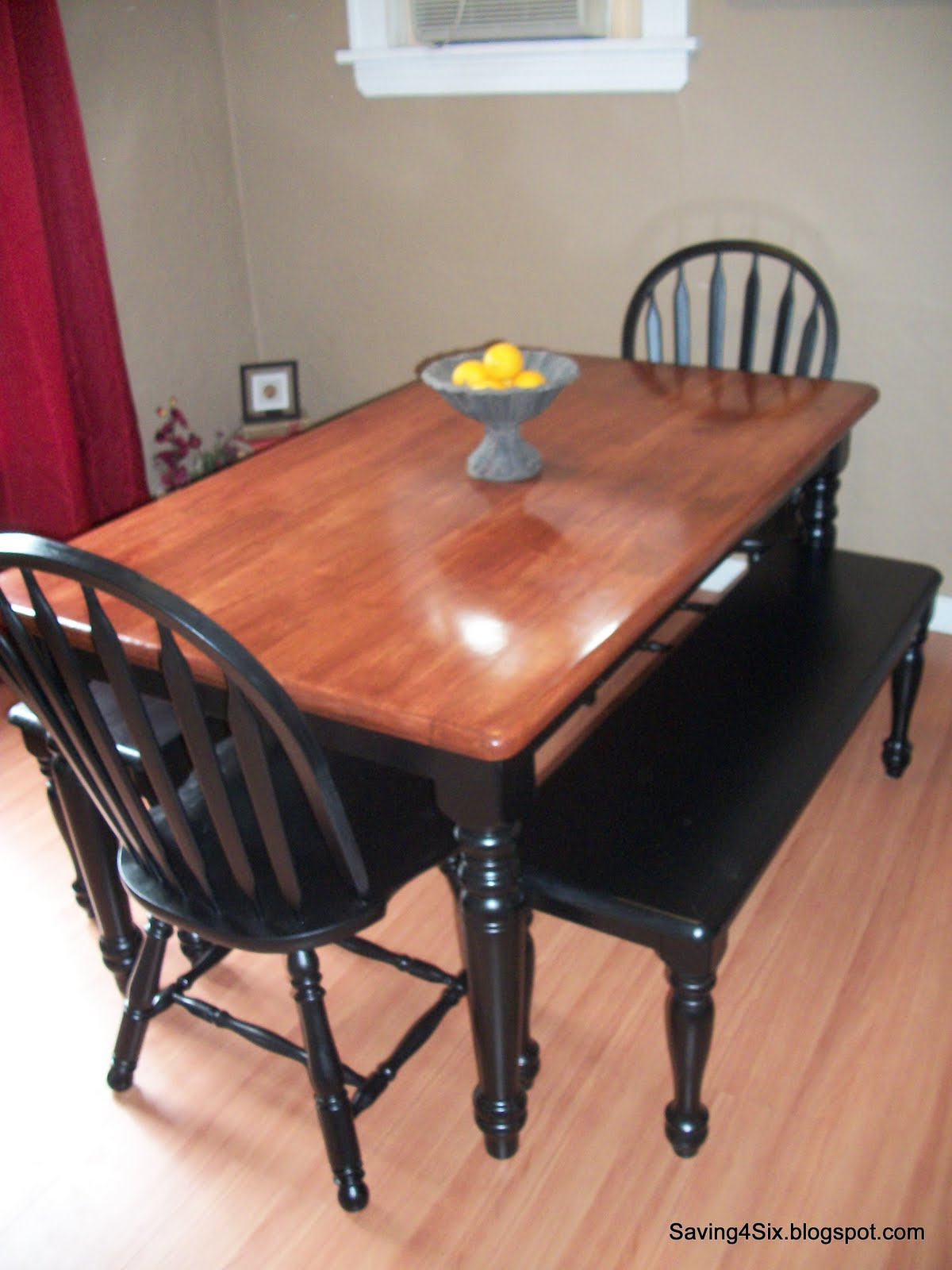 what kind of paint to use on dining room table | Refinishing The Dining Room Table