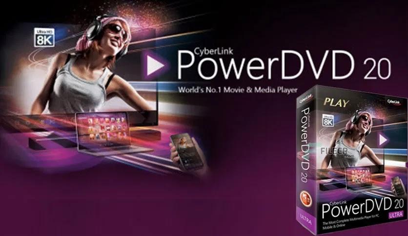 تحميل برنامج  CyberLink PowerDVD Ultra 20.0.2101.62 عملاق تشغيل الاسطوانات بأي نوع