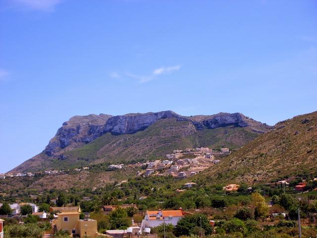 El Montgó desde La Xara, julio 2008 - Paseos Fotográficos TK