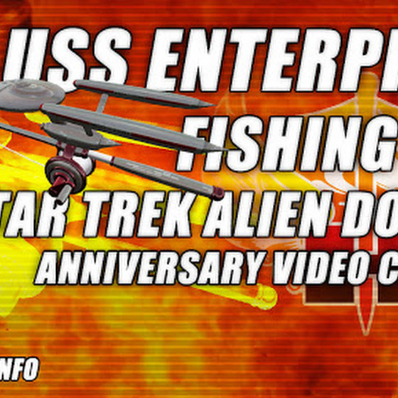 Free USS Enterprise Fishing Rod ★ Star Trek Alien Domain Anniversary Video Contest