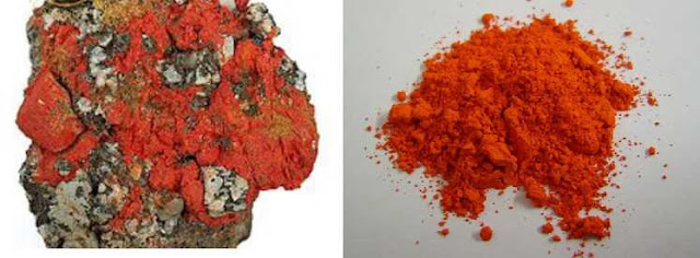DUYÊN ĐƠN - Minium - Nguyên liệu làm Thuốc nguồn gốc khoáng vật