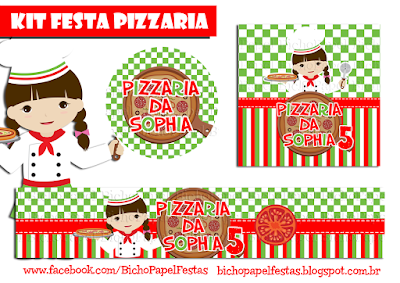 Kit Festa Pizzaria