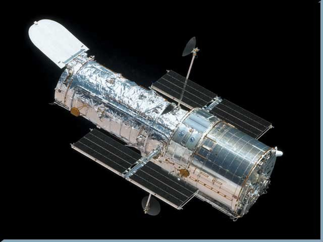 Hubble Space Telescope, which has spread many secrets of universe