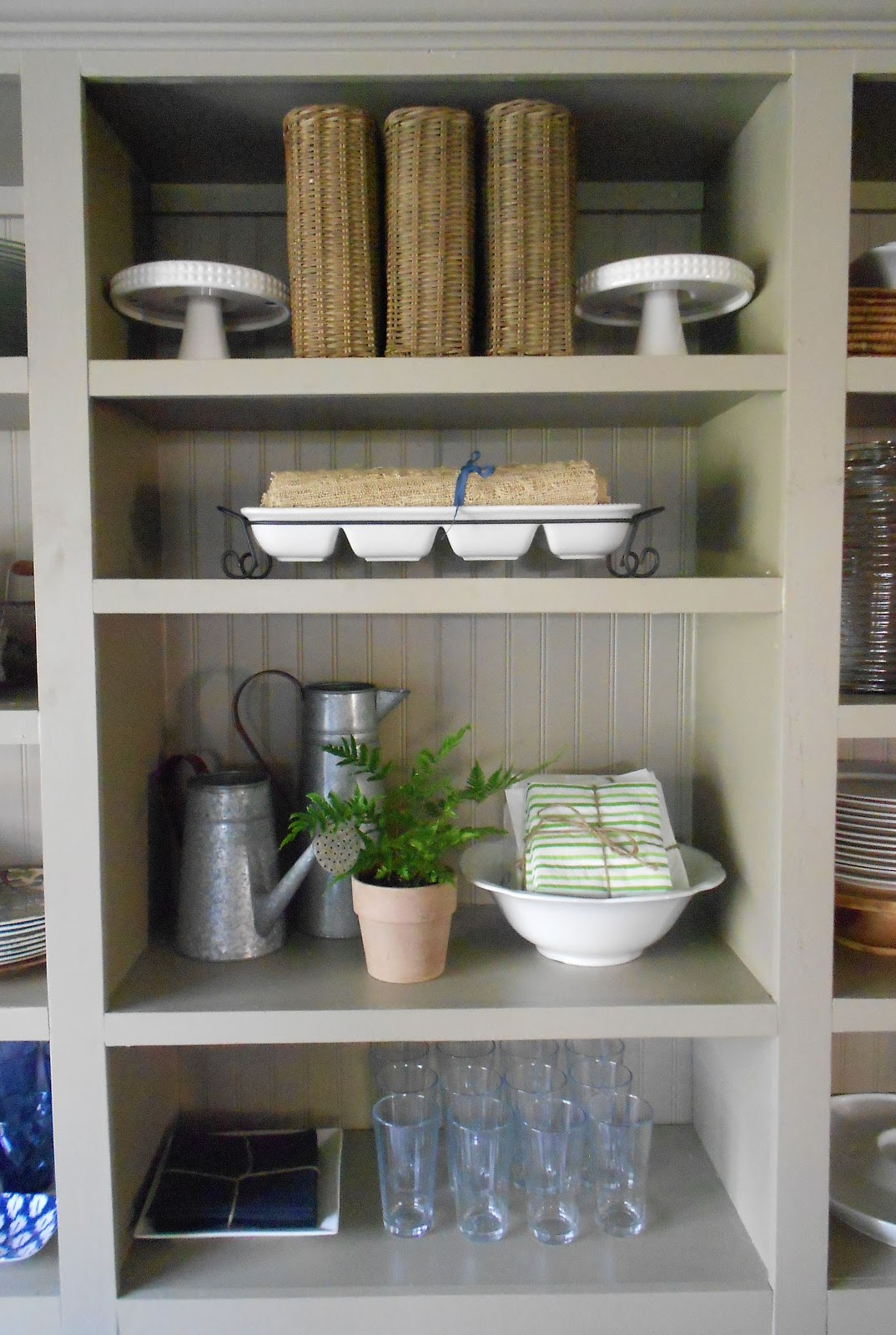 The Dining Room Bookcases