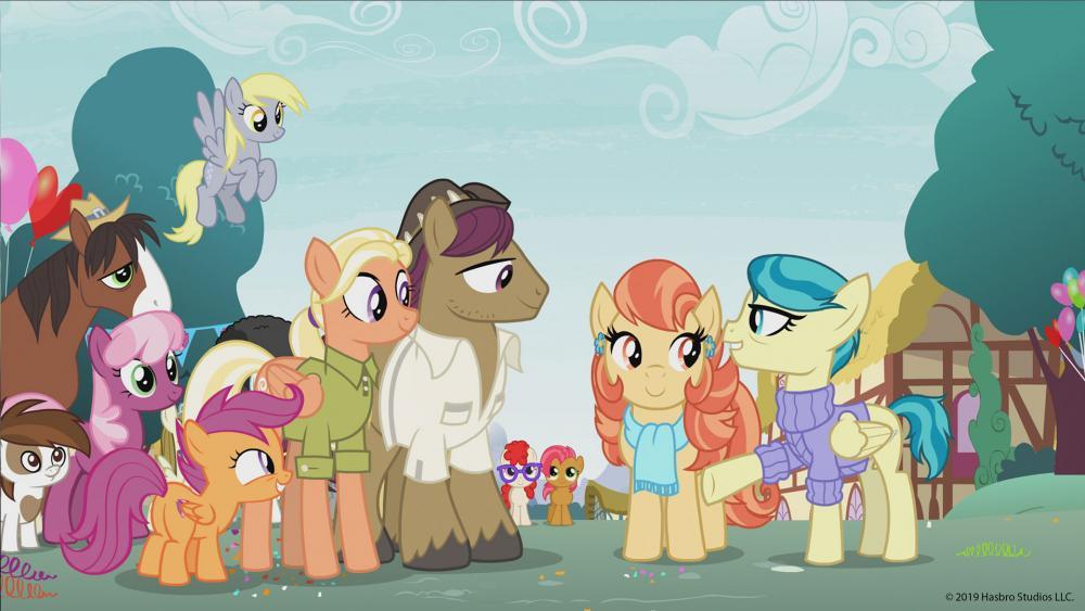 Hati-hati Bunda, Serial 'My Little Pony' Perkenalkan Pasangan Homo
