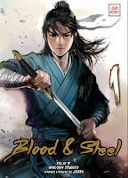 Blood Steel un manhwa des éditions Kotoji