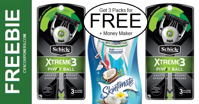 FREE Schick Disposable Razors at CVS 9-13-9-19